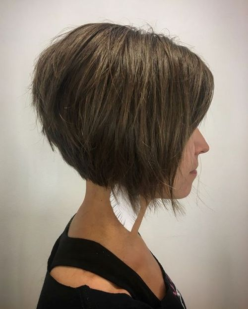 Textured Inverted Bob