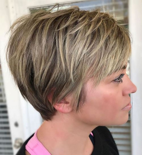 Easy-Care Tapered Pixie Hairstyle