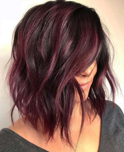Dark Brown Hair Color Change