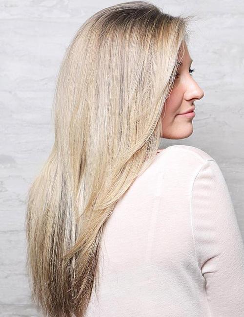 Long Layered Straight Hair