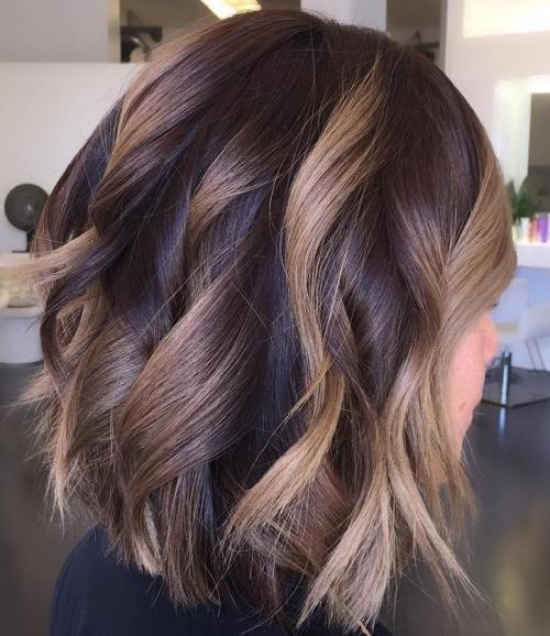 Shoulder Length Hairstyles Layered 2017 : 90 sensational medium length haircuts for thick hair in 2017