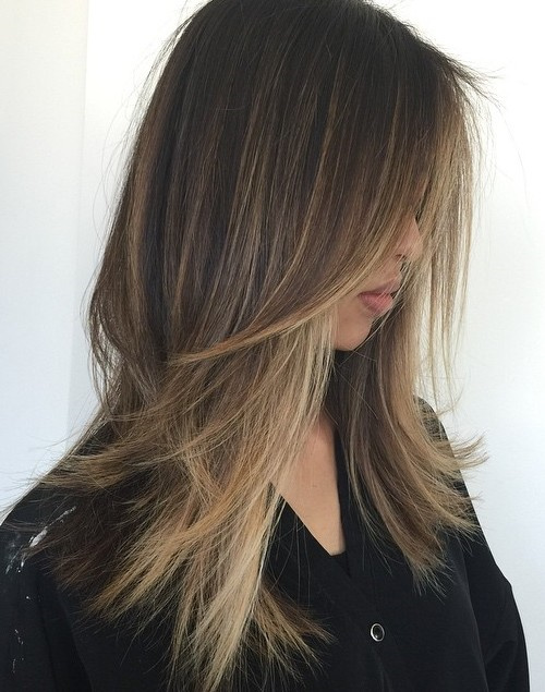 haircuts for long straight hair 80 layered hairstyles and cuts for hair in 2019 1146 | 15 long choppy haircut for straight thin hair
