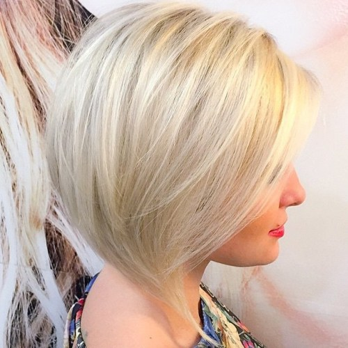 Platinum Blonde Bob