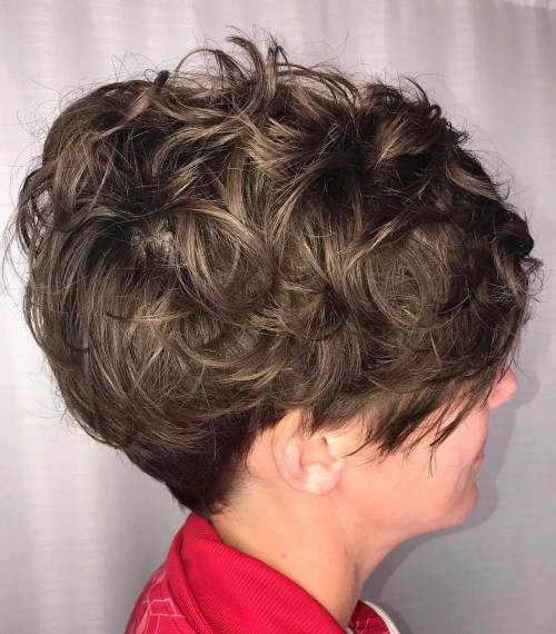 Short Cut For Thick Curly Hair