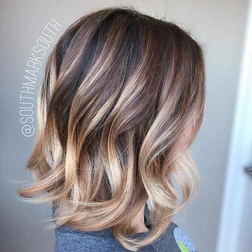 60 hairstyles featuring dark brown hair with highlights blonde ombre balayage for dark brown hair pmusecretfo Image collections