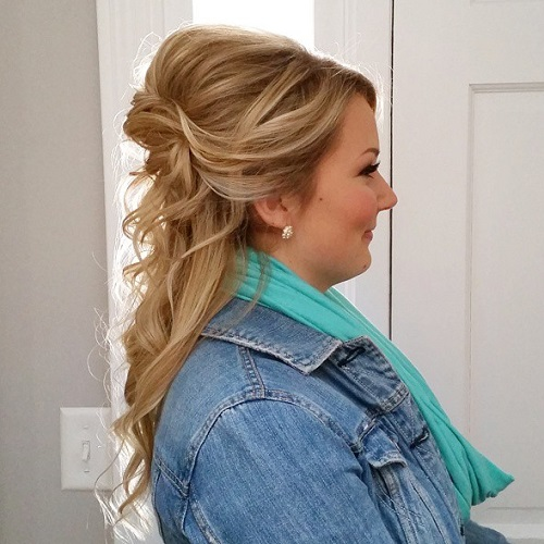 Wedding Hairstyle For A Round Face: Hairstyles For Full Round Faces
