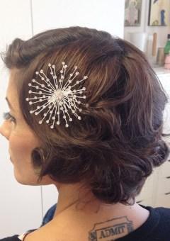 Wedding hairstyles for brides bridesmaids in 2017 therighthairstyle 40 best short wedding hairstyles that make you say wow urmus Choice Image