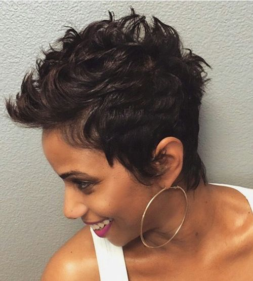 Cool 50 Most Captivating African American Short Hairstyles And Haircuts Short Hairstyles Gunalazisus