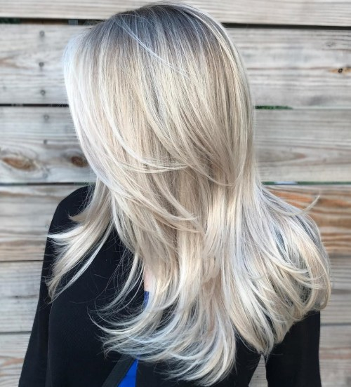 Blonde Hair With Long Layers