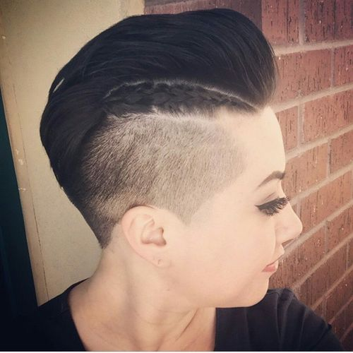 Awe Inspiring 60 Most Gorgeous Mohawk Hairstyles Of Nowadays Hairstyle Inspiration Daily Dogsangcom