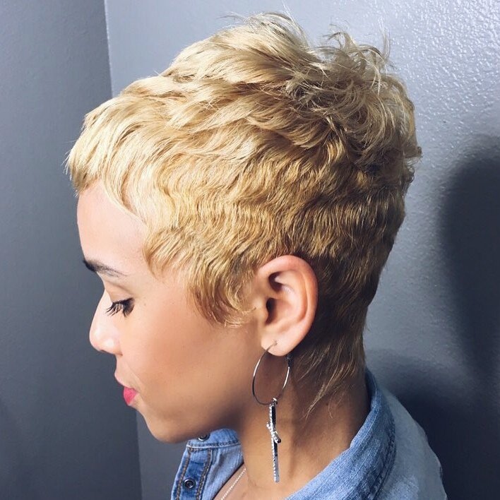 Ladies Short Crop Hairstyles and cool hairstyle