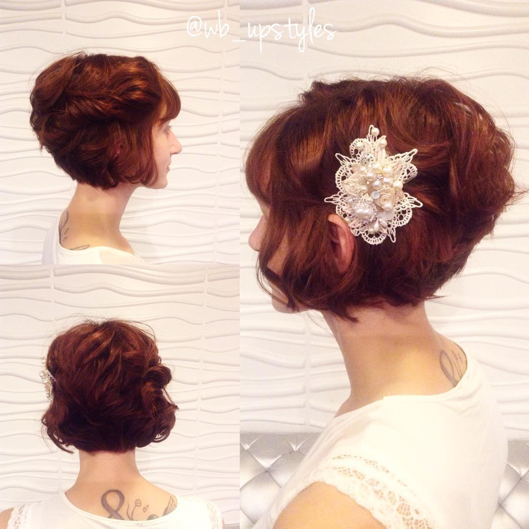 "Wedding Hairstyle Photos: 40 Best Short Wedding Hairstyles That Make You Say ""Wow!"""