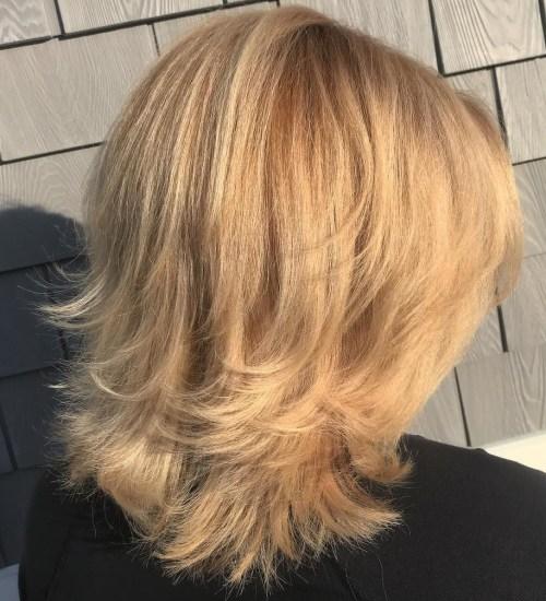 Flipped End Shag Haircut