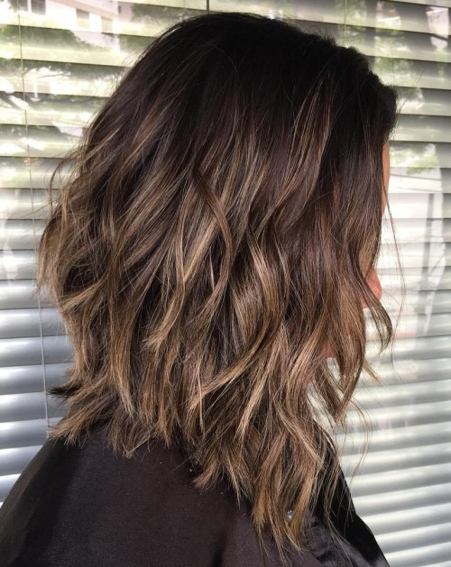 Layered Choppy Lob