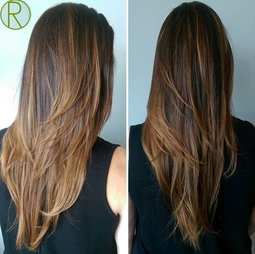 Superb Layered Haircut For Long Straight Hair