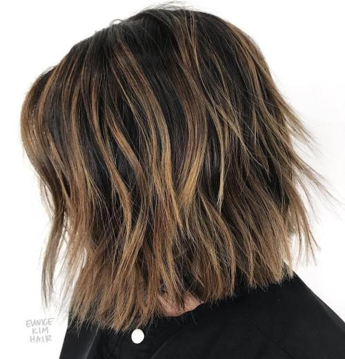 Two-Tiered Shaggy Bob