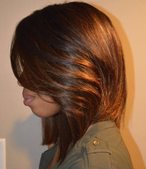 African American Copper Brown Lob