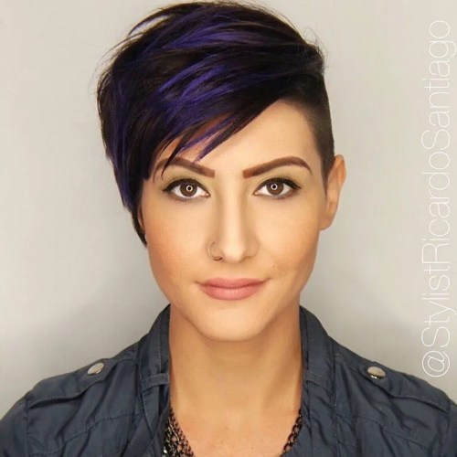 Enjoyable Top 40 Catchy Asymmetrical Haircuts And Hairstyles Hairstyles For Women Draintrainus