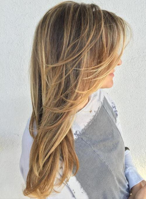 14 Cute Layered Hairstyles and Cuts for Long Hair in 14