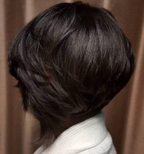 showiest bob haircuts black