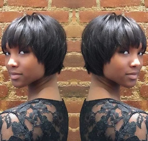 Stupendous 50 Most Captivating African American Short Hairstyles And Haircuts Hairstyles For Men Maxibearus