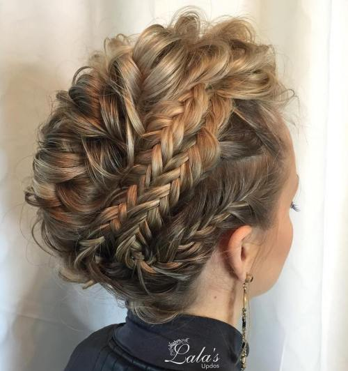 Multi-Braided Updo