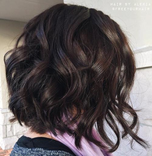 Wavy Brunette Hairstyles 103