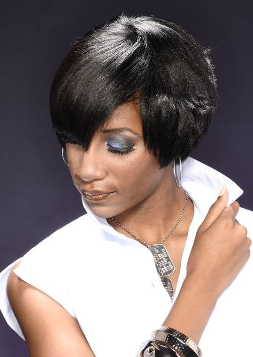 Astonishing 50 Most Captivating African American Short Hairstyles And Haircuts Hairstyles For Women Draintrainus
