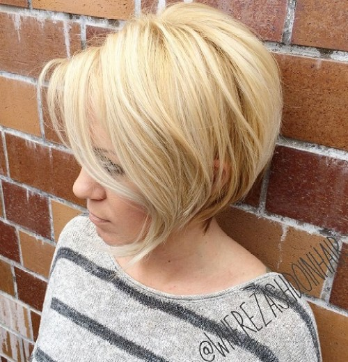 100 mind blowing short hairstyles for fine hair blonde rounded bob for thin hair urmus Image collections