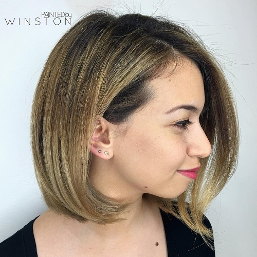 Hairstyles For Chubby Faces wedding hairstyle for round chubby face wedding hairstyles for round fat faces bridal hairstyles Bob Hairstyle For A Chubby Face