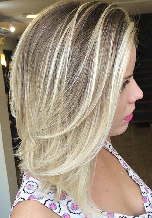 Medium Length Haircuts For Women Long Layers 3