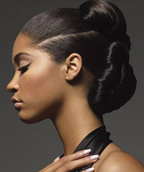 50 superb black wedding hairstyles black updo hairstyles for wedding pmusecretfo Image collections