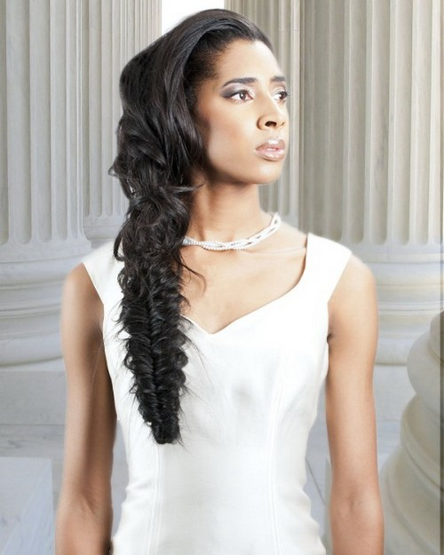 Wedding Hairstyles Black: 60 Superb Black Wedding Hairstyles