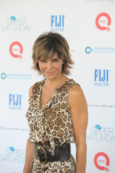 Lisa Rinna ombre for short hair