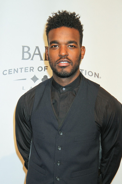 Luke James African Amerian haircut for men