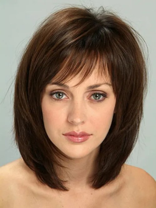 Enjoyable 70 Brightest Medium Length Layered Haircuts And Hairstyles Hairstyles For Women Draintrainus