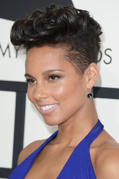 Alicia Keys short hairstyle