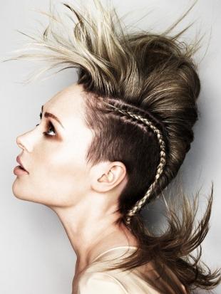 Female Mohawk Long Hair