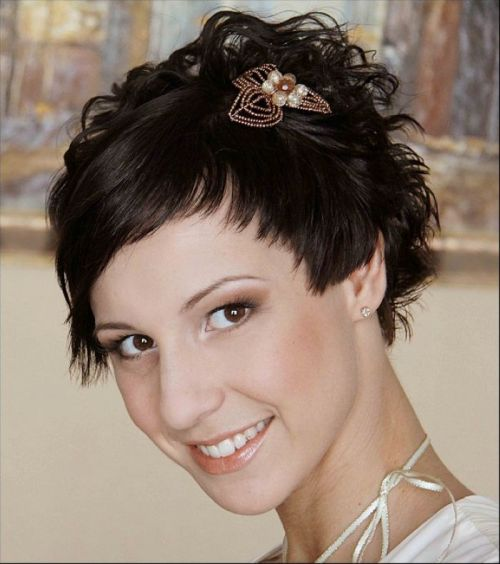 Pixie Hairstyles For Wedding: Mischievous Pixie