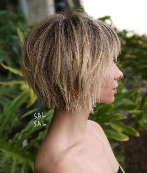60 Short Choppy Hairstyles for Any Taste. Choppy Bob, Layers, Bangs