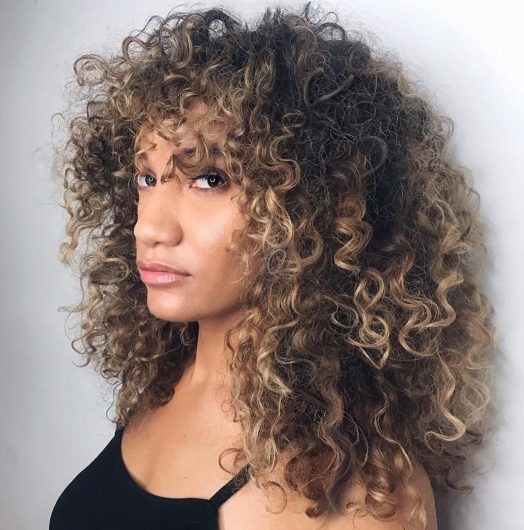 naturally hair Long curly