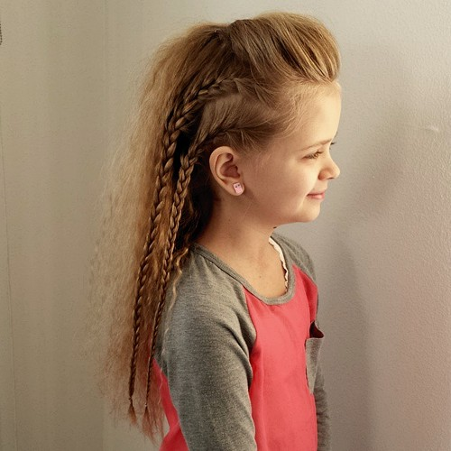 little girls hairstyle for long hair