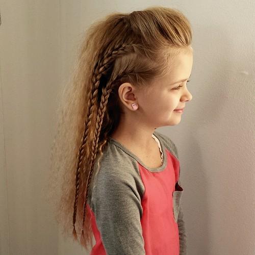 Hairstyles For The Little Girls Veenus Beauty Hair Salon La Habra