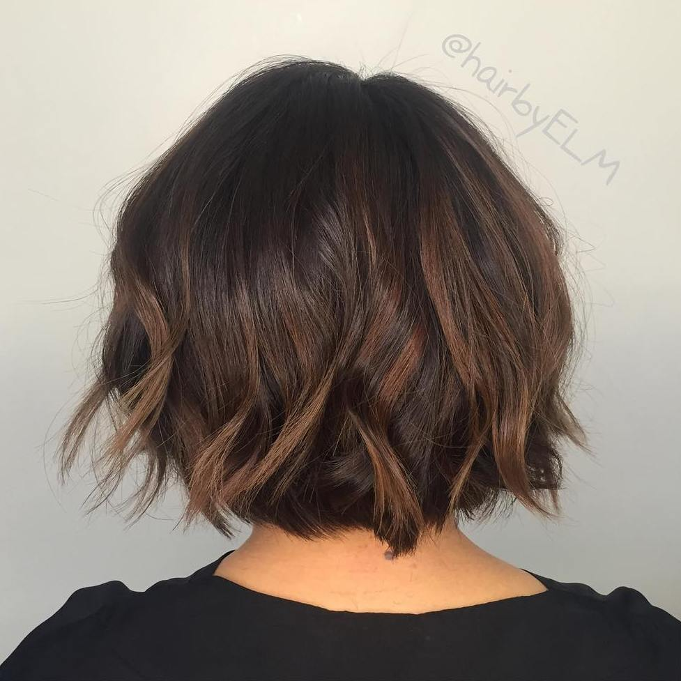 Subtle Brown Balayage Hair