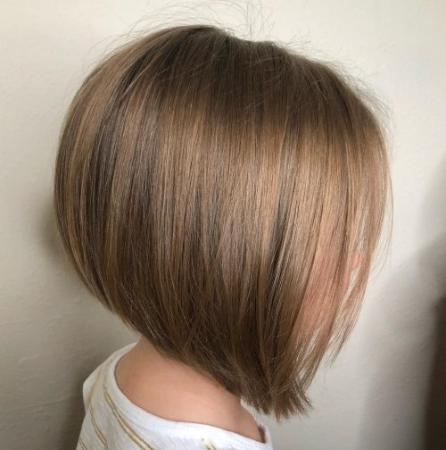 Angled Bob For Girls