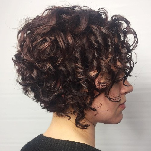 Short Curly Haircuts For Women 2019 14