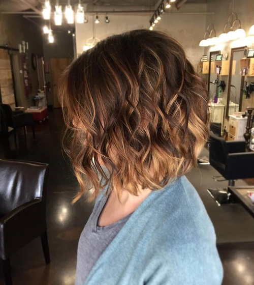 60 looks with caramel highlights on brown and dark brown hair brown ombre balayage bob pmusecretfo Gallery