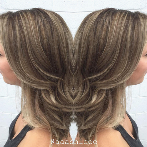 45 light brown hair color ideas light brown hair with highlights ash brown hair with thin highlights pmusecretfo Gallery