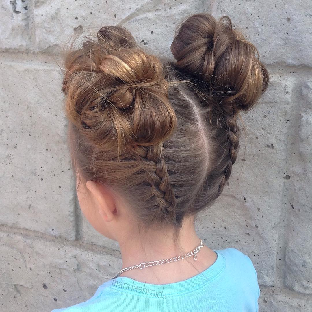 40 cool hairstyles for little girls on any occasion