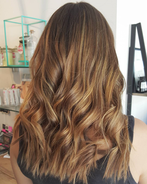 60 looks with caramel highlights on brown and dark brown hair dark brown hair with caramel ombre highlights pmusecretfo Choice Image